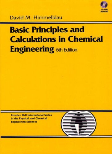 9780133766660: Basic Principles and Calculations in Chemical Engineering (BK/CD): International Edition (Prentice Hall International series in the physical and chemical engineering sciences)