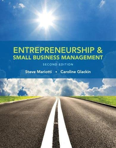 9780133767186: Entrepreneurship and Small Business Management