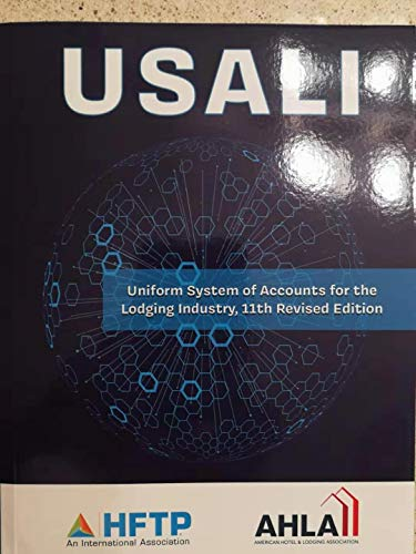 9780133767490: Uniform System of Accounts for the Lodging Industry with Answer Sheet (AHLEI) (11th Edition) (AHLEI - Hospitality Accounting / Financial Management)