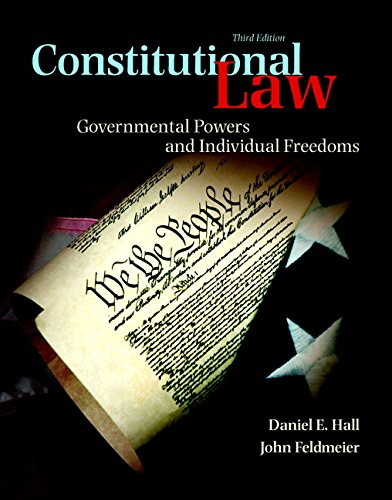 9780133767698: Constitutional Law: Governmental Powers and Individual Freedoms