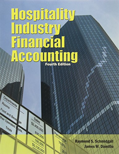 9780133768084: Hospitality Industry Financial Accounting with Answer Sheet (Ahlei) (Ahlei - Hospitality Accounting / Financial Management)