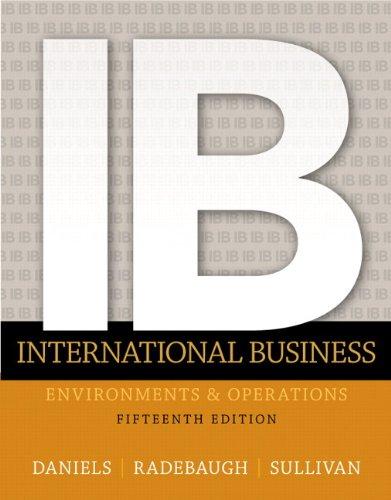 International Business Plus 2014 MyLab Management with: Radebaugh, Lee,Daniels, John,Sullivan,