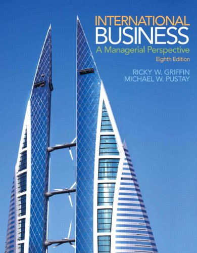 9780133768756: International Business with Mymanagementlab Access Code: A Managerial Perspective