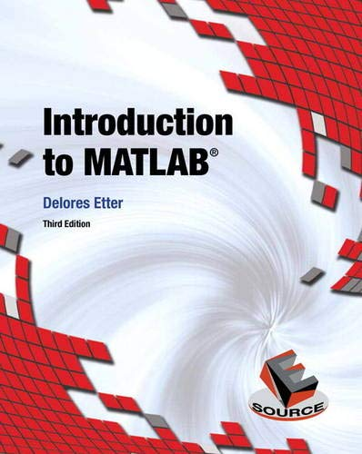9780133770018: Introduction to MATLAB
