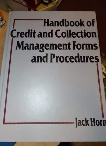 9780133770773: Handbook of Credit and Collection Management Forms and Procedures