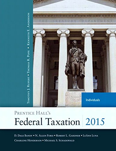 Prentice Hall's Federal Taxation 2015 Individuals (28th: Pope, Thomas R.,