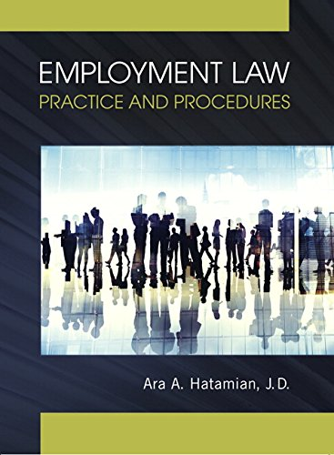 9780133772241: Employment Law for Paralegals: Bureaucracy in a Democracy