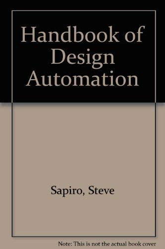9780133773262: Handbook of Design Automation