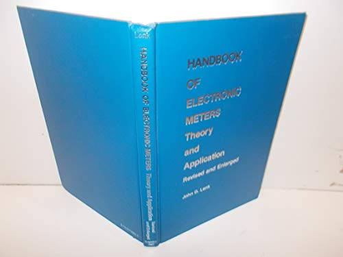 9780133773330: Handbook of electronic meters: Theory and application