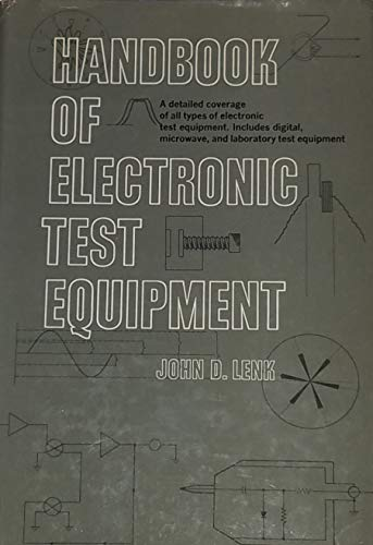Handbook of Electronic Test Equipment