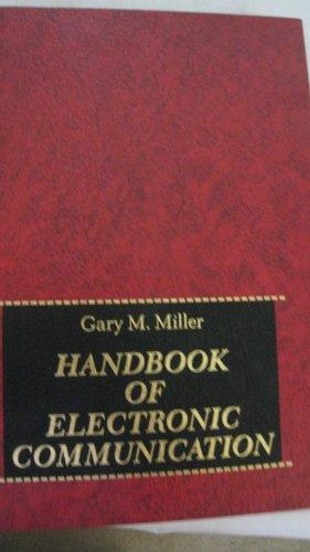 9780133773743: Handbook of Electronic Communications