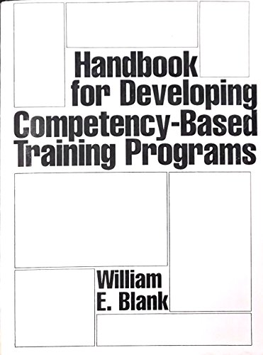 9780133774160: Handbook for Developing Competency-Based Training Programs