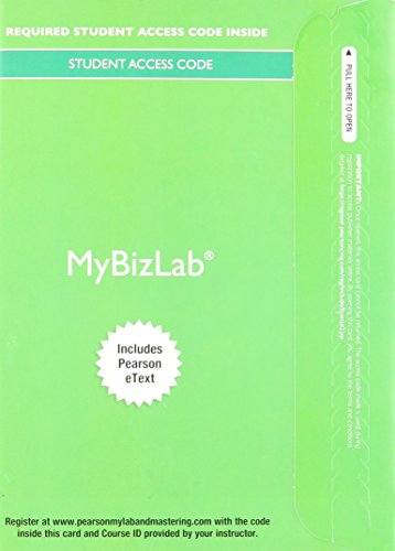 9780133774771: 2014 MyBizLab with Pearson eText -- Access Card -- for Business in Action