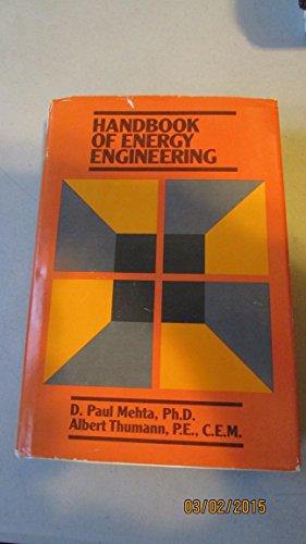 9780133775167: Handbook of Energy Engineering