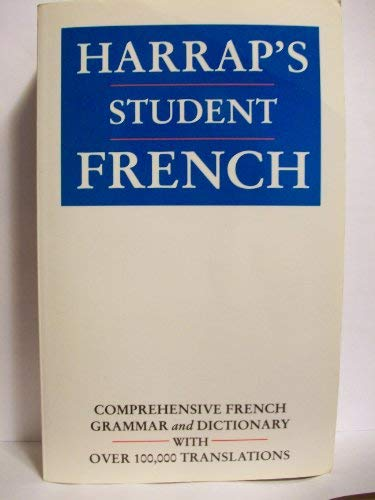 9780133776317: Harrap's Student French Dictionary: Plus French Grammar