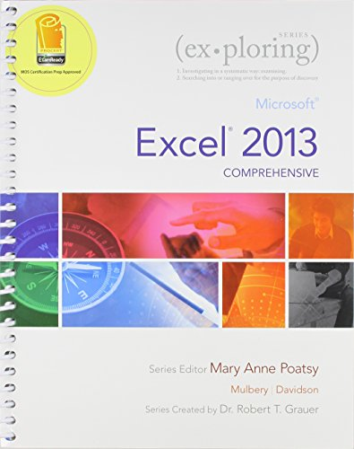 9780133776997: Exploring: Microsoft Excel 2013, Comprehensive  &  NEW myitlab -- Access Card -- for Exploring Microsoft Office 2013 (Replacement Card) Package