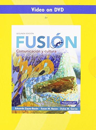 9780133778205: Video on DVD for Fusion: Comunicacion y cultura