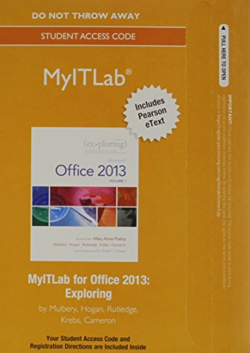9780133778694: Office 365 Home Premium Academic and MyITLab with Pearson eText -- Access Card Package