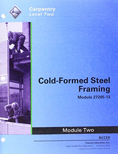 9780133779103: 27205-13 Cold-Formed Steel Framing Trainee Guide