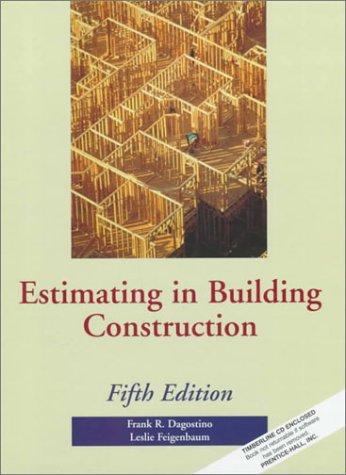 9780133779387: Estimating in Building Construction (5th Edition)