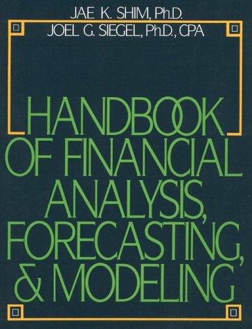 9780133779950: Handbook of Financial Analysis, Forecasting & Modeling
