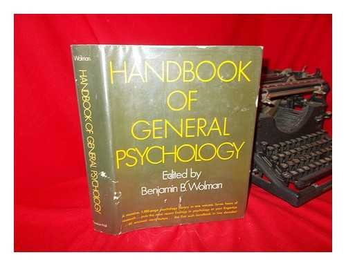 9780133781410: Handbook of General Psychology