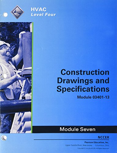 9780133781601: 03401-13 Construction Drawings and Specifications Trainee Guide