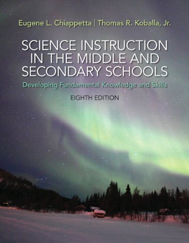 9780133783766: Science Instruction in the Middle and Secondary Schools: Developing Fundamental Knowledge and Skills, Pearson eText with Loose-Leaf Version -- Access Card Package (8th Edition)