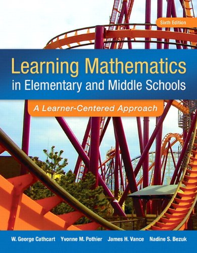 9780133783780: Learning Mathematics in Elementary and Middle School: A Learner-Centered Approach, Enhanced Pearson eText with Loose-Leaf Version -- Access Card Package (6th Edition)