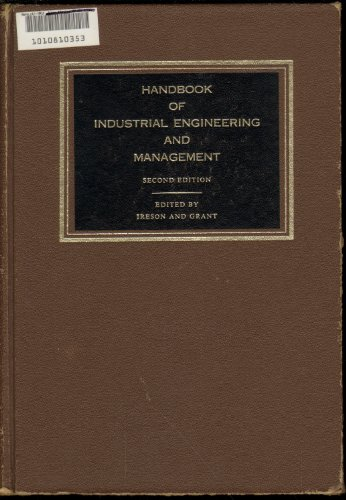 Handbook of Industrial Engineering and Management: Ireson, W.Grant; Grant,