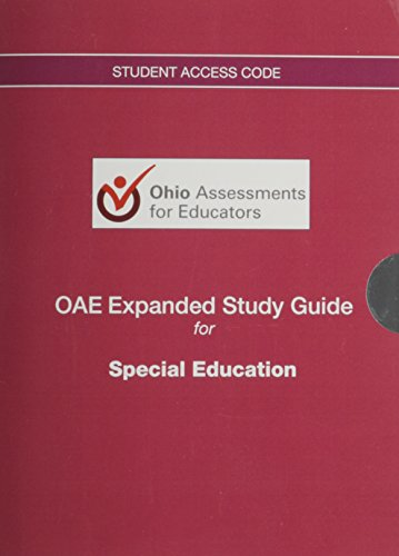 9780133784640: OAE Expanded Study Guide - Access Code Card - for Special Education