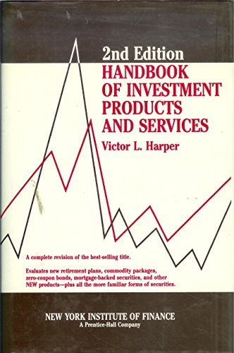 9780133787467: Handbook of Investment Products and Services