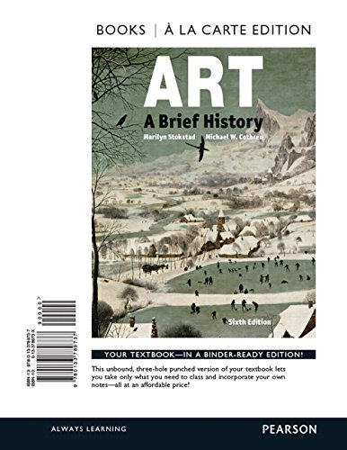 9780133789737: Art: A Brief History , Books a la Carte Edition (6th Edition)