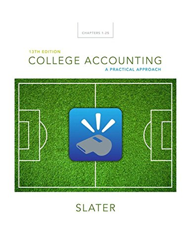 9780133791006: College Accounting: A Practical Approach (13th Edition)