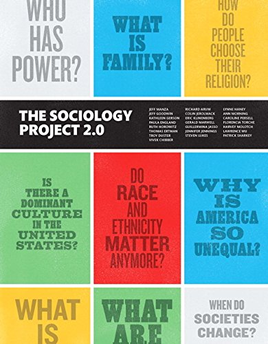 9780133792249: The Sociology Project: Introducing the Sociological Imagination