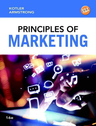 9780133795028: Principles of Marketing (16th Edition)
