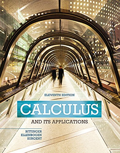 9780133795561: Calculus and Its Applications Plus MyLab Math with Pearson eText -- Access Card Package (11th Edition) (Bittinger, Ellenbogen & Surgent, The Calculus and Its Applications Series)