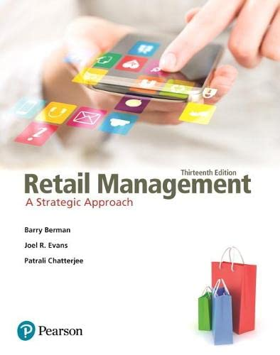 9780133796841: Retail Management: A Strategic Approach (13th Edition)