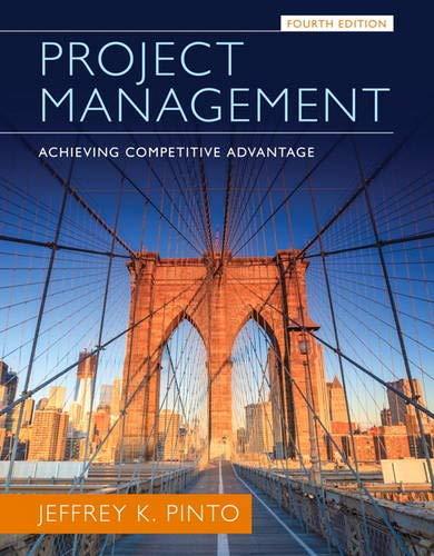 9780133798074: Project Management: Achieving Competitive Advantage