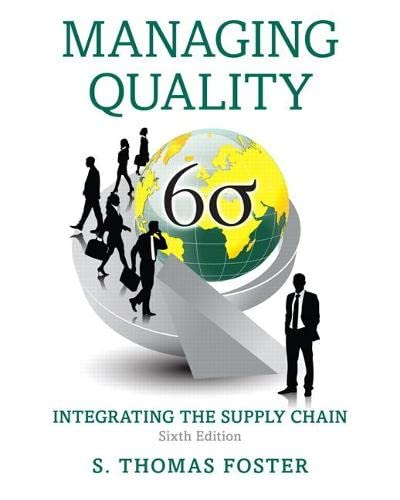 managing quality in a global supply Managing quality globally global quality oversight and end-to-end control of the value activities exacerbate the bottleneck in the overall supply chain.