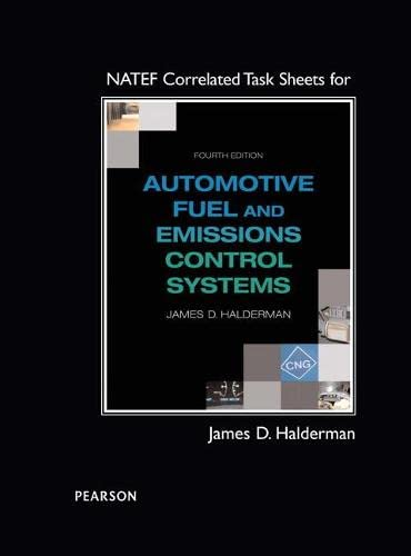 9780133799811: NATEF Correlated Task Sheets for Automotive Fuel and Emissions Control Systems