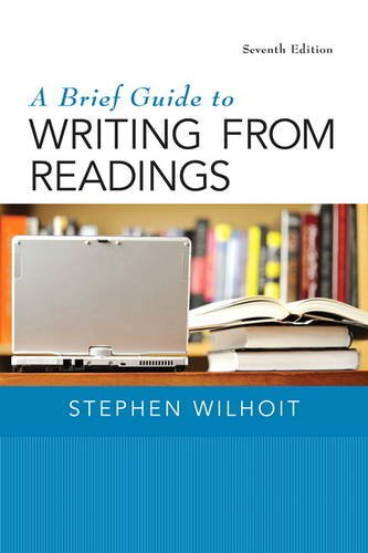 9780133800333: A Brief Guide to Writing from Readings (7th Edition)