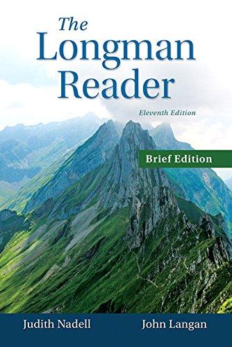 9780133800401: The Longman Reader, Brief Edition (11th Edition)