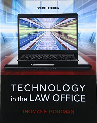 9780133802573: Technology in the Law Office (4th Edition)