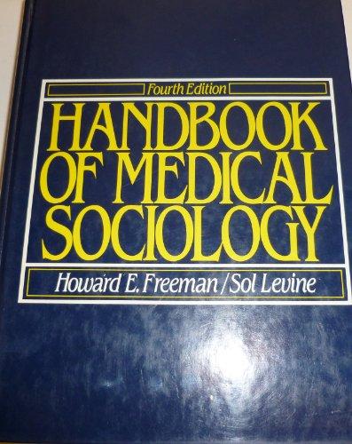 9780133803051: Handbook of Medical Sociology