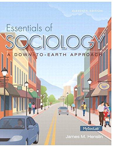 9780133803549: Essentials of Sociology