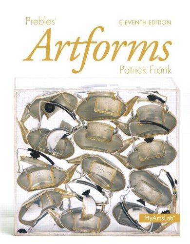 Prebles' Artforms Books a la Carte Plus: Preble Emeritus, Duane;
