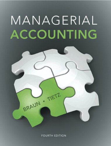 9780133803808: Managerial Accounting Plus NEW MyLab Accounting with Pearson eText -- Access Card Package (4th Edition)