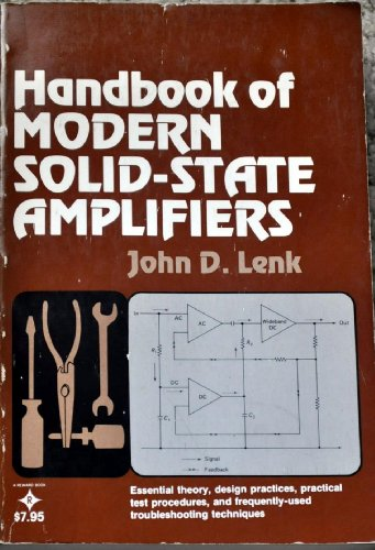 9780133803860: Handbook of Modern Solid State Amplifiers