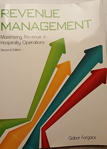 9780133804393: Revenue Management with Answer Sheet (AHLEI) (2nd Edition) (AHLEI - Revenue Management)